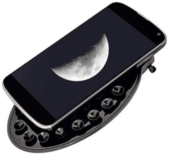BRESSER Smartphone Halterung für Teleskope mit 1,25'' Okular