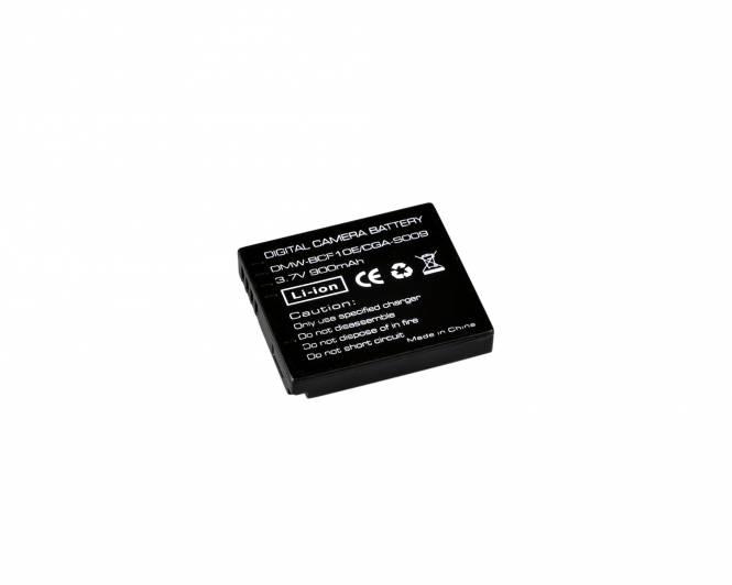 BRESSER Lithium-Ionen Ersatzakku für Panasonic DMW-BCF10