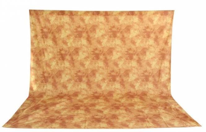 BRESSER BR-6104 waschbares Hintergrundtuch mit Muster 3x6m