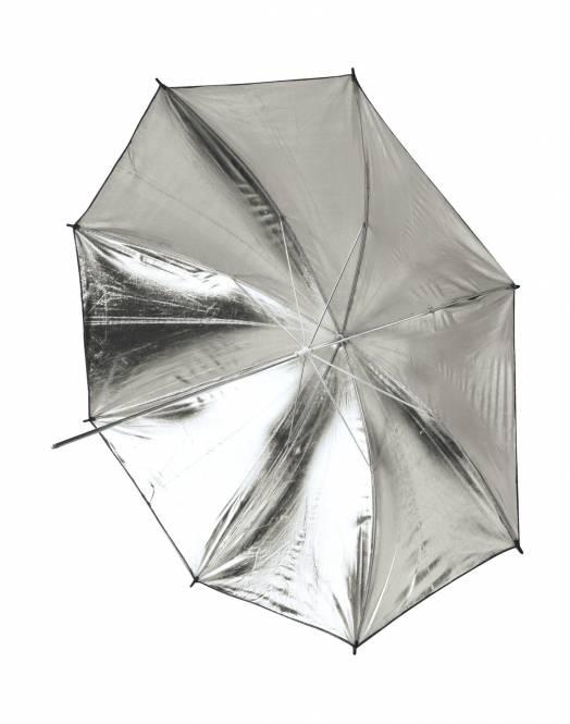 BRESSER SM-11 Reflexschirm weiß/schwarz 101cm