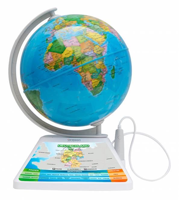 Oregon Scientific SmartGlobe™ Adventure 2.0 - interaktiver Globus mit Smart Pen und 3D erweiterter Realität (AR)