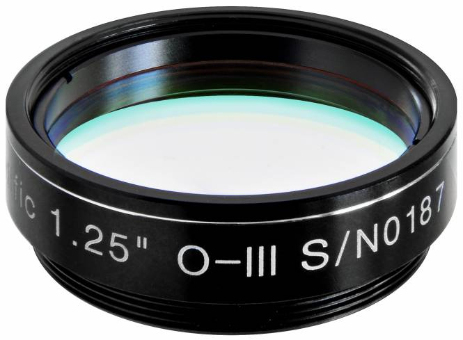 "EXPLORE SCIENTIFIC 1,25"" O-III Nebelfilter 12nm"