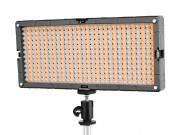 BRESSER SL-448-A Slimline LED Video-Flächenleuchte (26,9 W / 1.400 LUX) Bi-Color