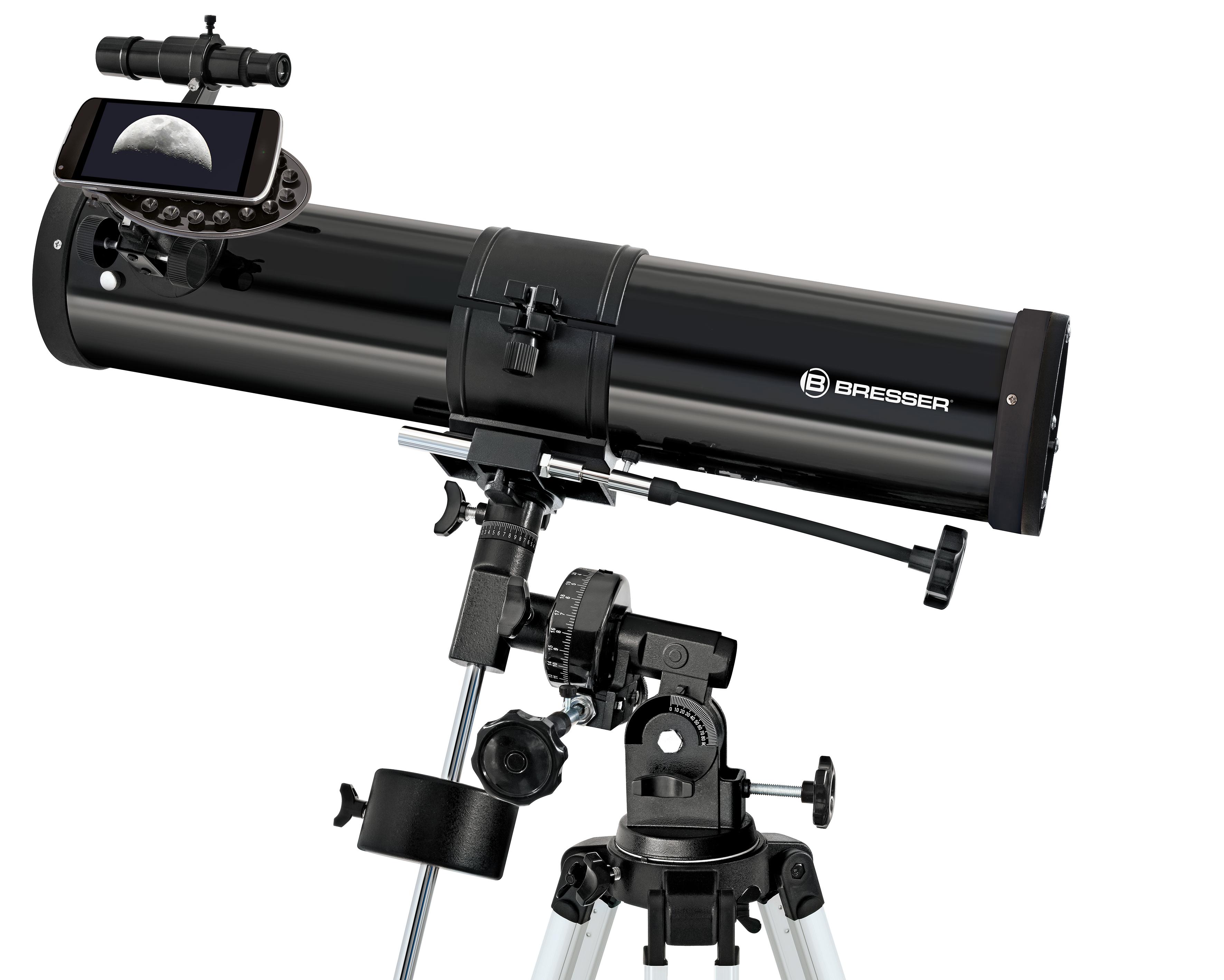Bresser messier ar s hexafoc refraktor exos teleskop mit
