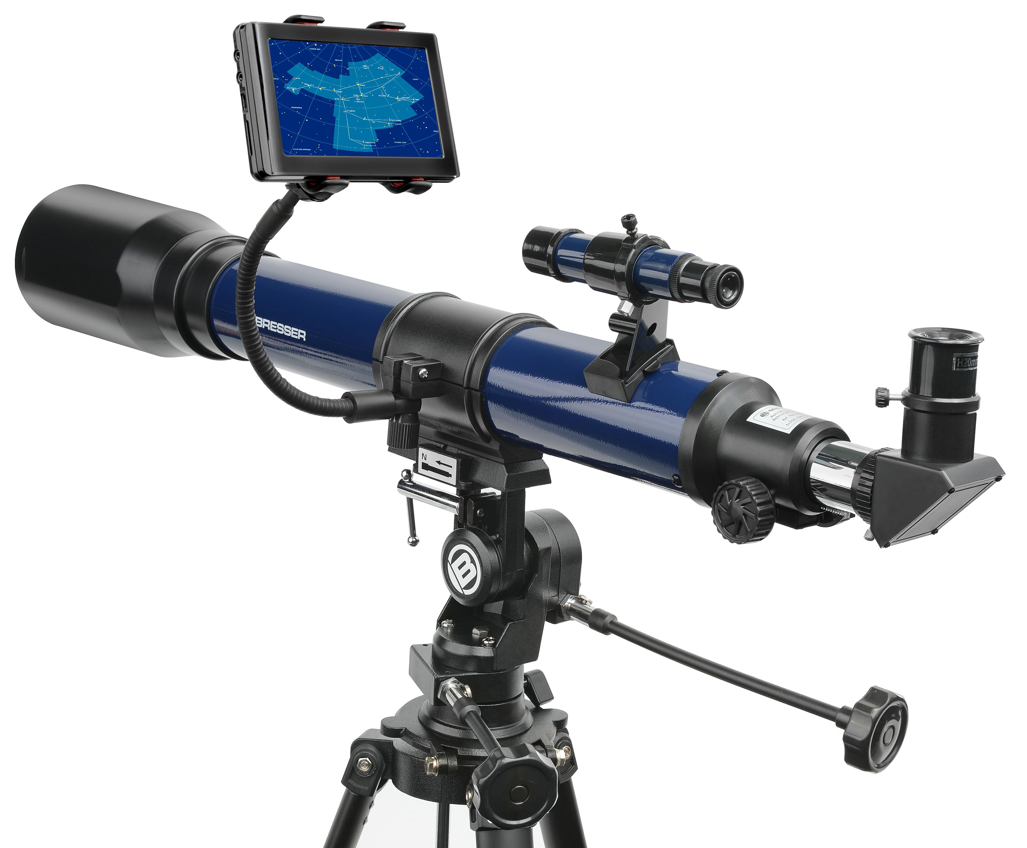 Bresser smartphone halter für fernglas teleskop hier online
